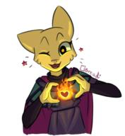 Katia's_Thief_Tunic adorable artist:breadcipher character:Katia_Managan happy magic_fire