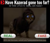 Night_Eye artist:Triskelion cat fansnark khajiit_racism knock_off photo text